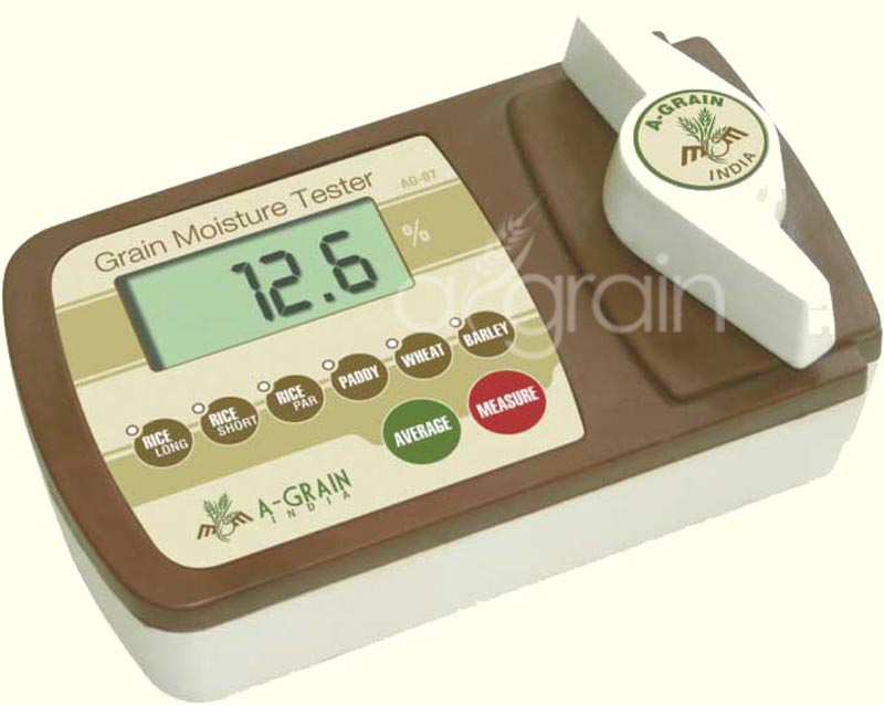 Grain Moisture Tester - AG-07 For Moisture Content Measurement