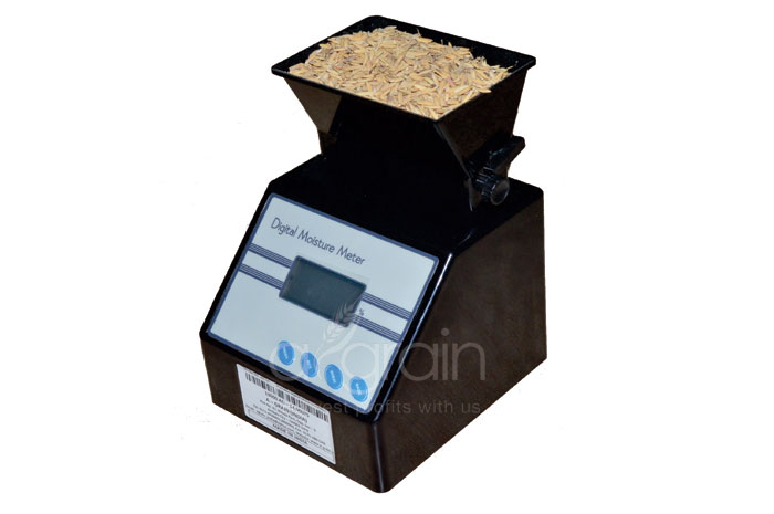 Portable Digital Moisture Meter - AG-14 Calibrated For Paddy,Wheat,Rice & Maize